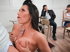Makayla Cox fucked well by a fellow in..