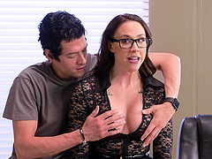Horny MILF Chanel Preston can take..