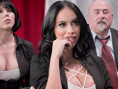 Victoria June is a curvy brunette who..