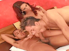 Anita is a thin redhead with nice tits..