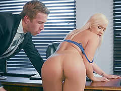 Kylie Page is a plump blonde who loves..
