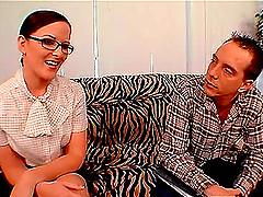 Caroline Pierce is a shy babe with..