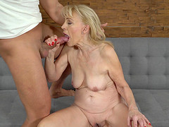 Szuzanne is a hot cougar ready for a..