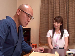 Aya Sakurai is a babe in black tights..