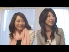 Sexy Japanese office lady banged hard