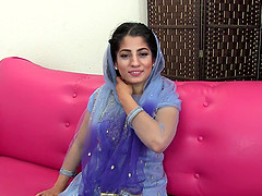 Exotic beauty Nadia Ali is impatient..