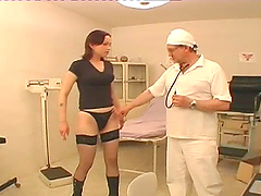 Doctor fucks his patient in..