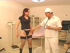 Doctor fucks his patient in..