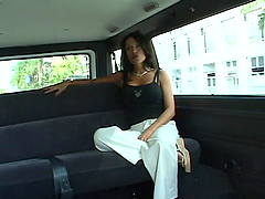 Mature Slut Is Taken For A Drive & A..