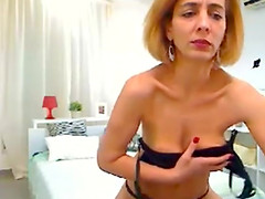 Arab mature strip dance on web cam