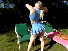 Blonde Charlotte throbbed hardcore..