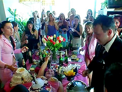 Wedding party and orgy where Daria..