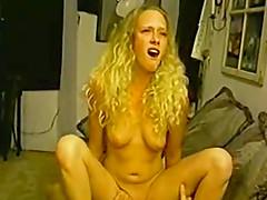 Nasty girl makes a long pecker..