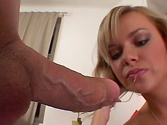 POV video with horny Ellen Saint..