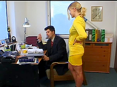 Secretary Spoils Stressed Boss