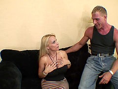 Busty milf Holly Halston gets..