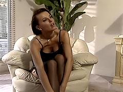 Aleksandra Nice the sizzling brunette..