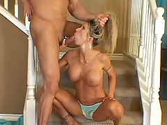 Mature sex-hungry couple is having..