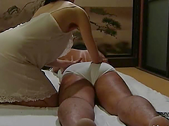 Hot Japanese chick gets fucked by her..