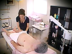 Massage parlor hidden camera with a..