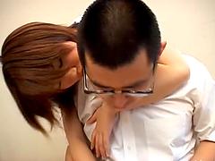 Asian slut Ai Mizuno gets hotly fucked..