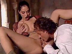 Hot medieval doggystyle sex in the..