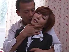 Slutty Yuria Satomi gets her sweet..