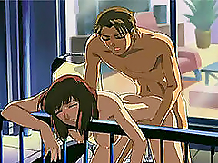 Anime & manga presents hardcore scene of double penetration fuck