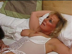 Sexy Massaging Gilf Hardcore Big Tits Sex