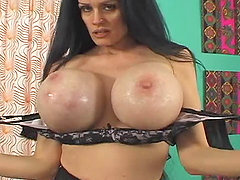 Sofia Staks shows her huge boobs and..