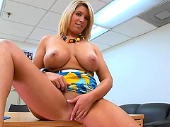 Charlee's Spreads Her Legs in a Super..