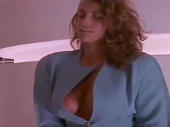 Amazing retro video with sexy blonde..