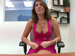 Sexy and Horny MILF Miley Ann Sucks..