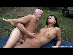 Teenage ass fucked by an old man