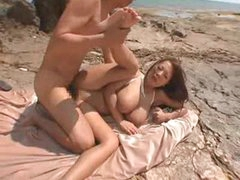 Sex on a beach with a big titty..