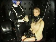Rubber submissive entombed