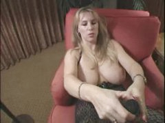 Wifey gives handjob and takes toys