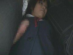 Schoolgirl groped by stranger