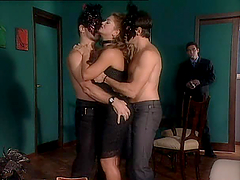 Hot Blonde Gets Seduced By Her Man in..