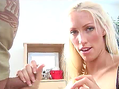 Hot Handjob with Facial Cumshot for..