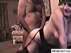 Mature fucked by an older guy