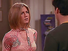 Jeniffer Aniston on her hit show..
