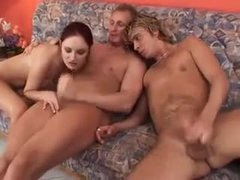 Babe gets into the good bisexual fucking