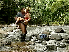 Interracial Anal Sex on a Stream with busty Blonde Jamie Brooks