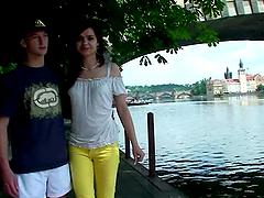 Amateurs Benedikta and Cyril..