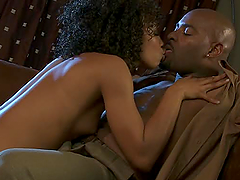 Hardcore Ebony Action With The Beautiful Misty Stone