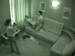 Spy Cam Catches Teen Amateurs Banging