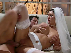 Sexy Bride Dylan Rider Hardcore With..