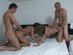 AMAZING AMATEUR ORGY AT CZECH SWINGERS..
