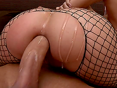 Hot Oiled Up Anal Sex With The..